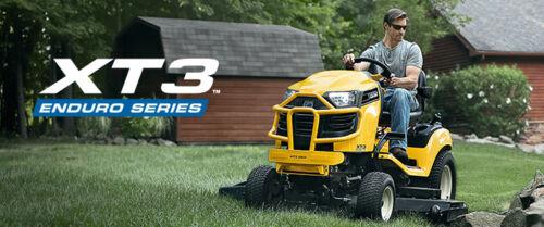 Club Cadet XT3 fűnyíró traktor széria